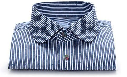 STRIPED CUSTOM DRESS SHIRT