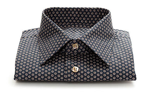 PATTERNED CUSTOM DRESS SHIRT